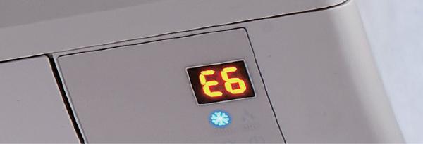 klima arıza kodları